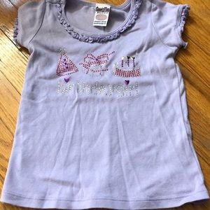 Sparkly boutique birthday shirt size 5/6